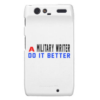 A Military writer Do It Better Droid RAZR Cover