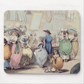 A Milliner's Shop, published in 1787 (hand coloure Mouse Pad