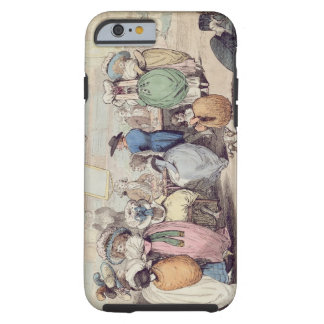 A Milliner's Shop, published in 1787 (hand coloure Tough iPhone 6 Case