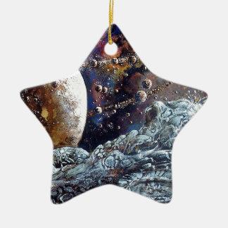 A Million Moons Ceramic Ornament