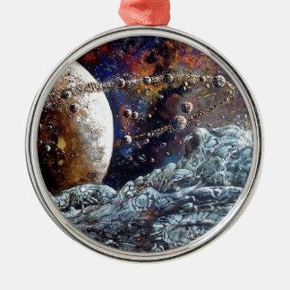 A Million Moons Metal Ornament