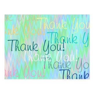 A Million Thank You's Postcard