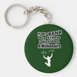 A Millionaire Dark Keychain