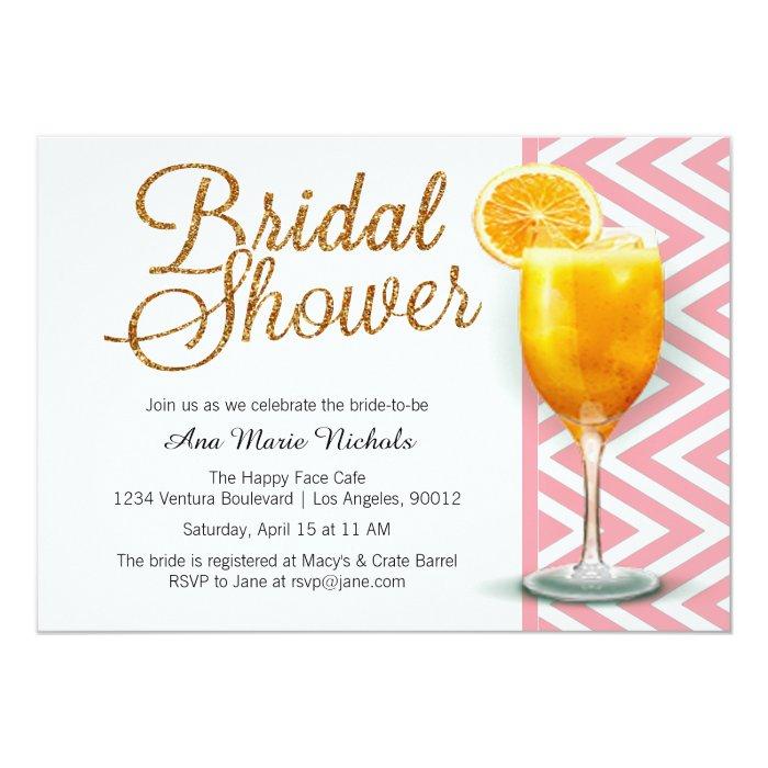 Mimosa Brunch Invitations as perfect invitation template