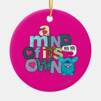 A Mind of its Own 2 - App Double-Sided Ceramic Round Christmas Ornament