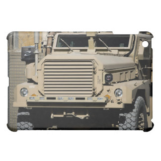 A mine-resistant, ambush-protected vehicle cover for the iPad mini