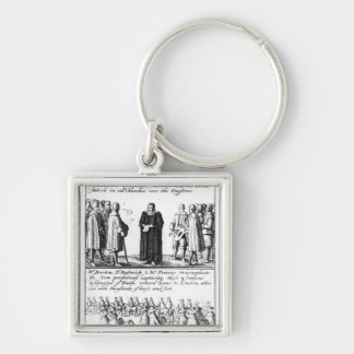 A Minister Taking the Protestation Key Chains