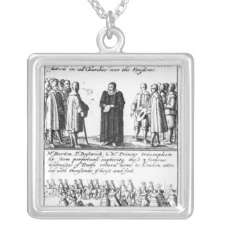 A Minister Taking the Protestation Pendants
