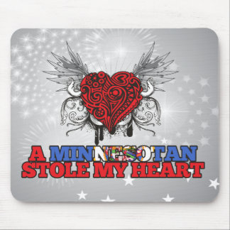A Minnesotan Stole my Heart Mouse Pad
