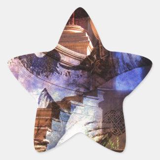 A MINSTRELS MEMORY.jpg Star Sticker