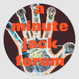A Minute Jack Forum Stickers - Alchemic Hand