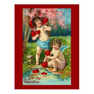 A mis Cupids de la tarjeta del día de San Valentín Tarjeta Postal