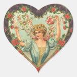 A mis pegatinas del corazón de la tarjeta del día  calcomanías de corazones
