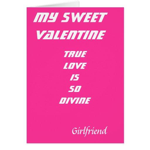 A mis tarjetas románticas de las tarjetas del día