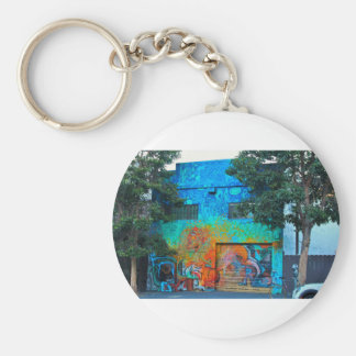 A Mission District Mural II Keychain