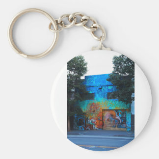 A Mission District Mural III Keychain