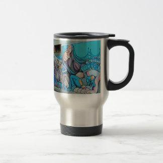 A Mission District Mural Travel Mug
