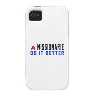 A Missionarie Do It Better Vibe iPhone 4 Covers