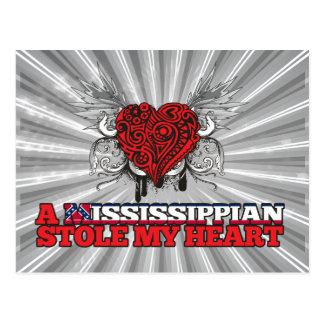 A Mississippian Stole my Heart Postcard
