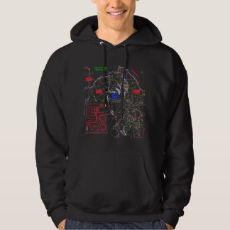 """""""A Mistook County"""" trail map hoodie"""
