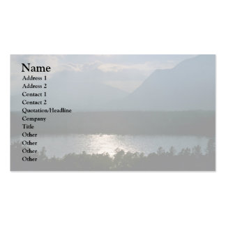 A Misty Morning Business Card