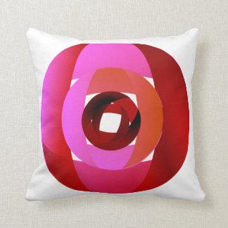 A Modern Rose Throw Pillow