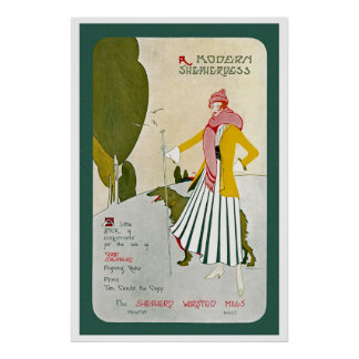 A Modern Shepherdess Poster