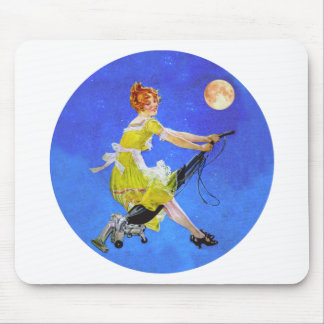 A Modern WItch Mouse Pad