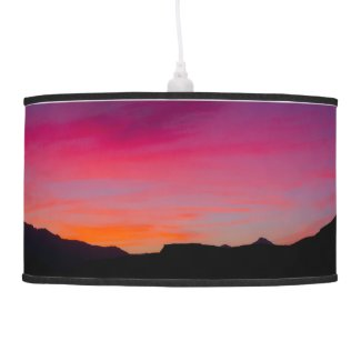 A Mojave Sunset x 2 Ceiling Lamp