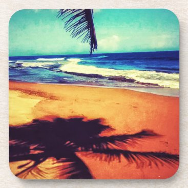 Beach Themed A Moment in Paradise Coasters
