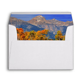 A Moment in Wyoming in Autumn Envelope