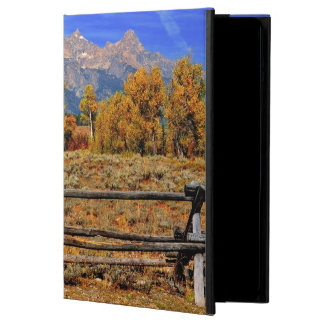 A Moment in Wyoming in Autumn iPad Air Cover