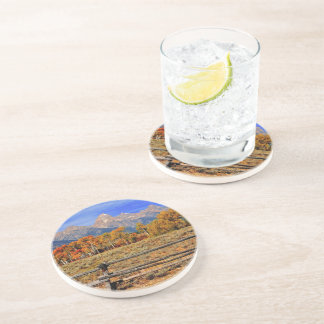 A Moment in Wyoming in Autumn Sandstone Coaster