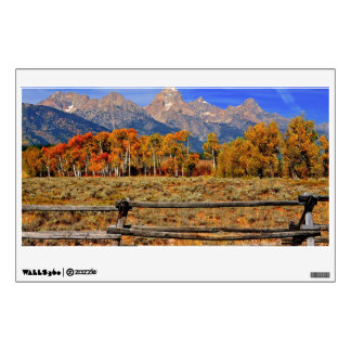 A Moment in Wyoming in Autumn Room Sticker