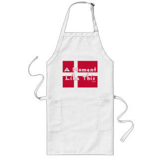 A Moment Like This Long Apron