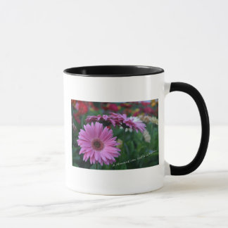 A Moment Pink Gerbera Daisies coffee cup gift