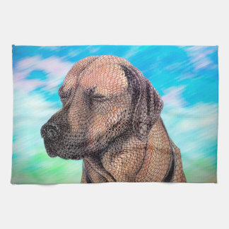 A Moment with Jedd (Ridgeback) Towel