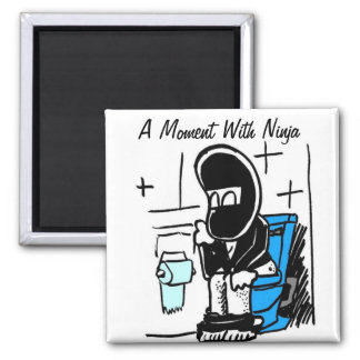 A Moment With Ninja Fridge Magnets