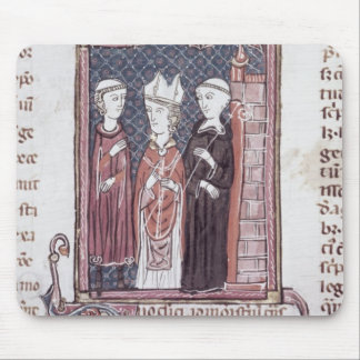 A Monk, a Bishop and an Abbot Mouse Pad
