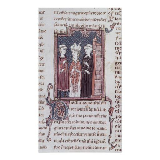 A Monk, a Bishop and an Abbot Print