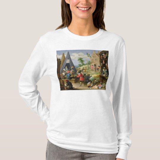 A Monkey Encampment T-Shirt