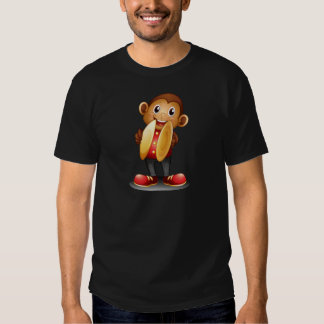 A monkey holding cymbals T-Shirt