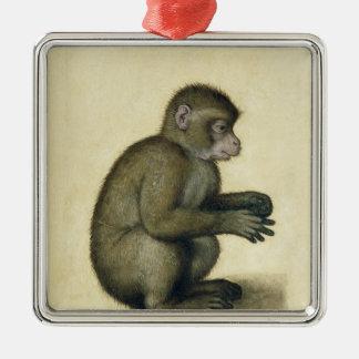 A Monkey Metal Ornament
