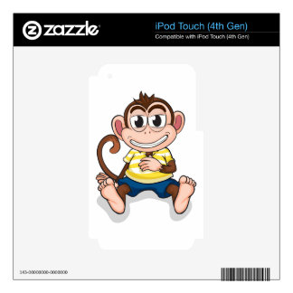 A monkey iPod touch 4G skins