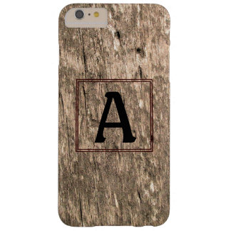 A-Monogram Barnwood iPhone 6 Plus Case