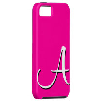 A Monogram Pink iPhone 5 Case