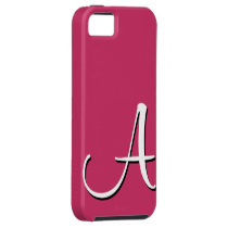 A Monogram Pink Taffy IPhone 5 Case