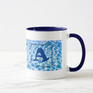 A-Monogram Waterlogged Ringer Mug