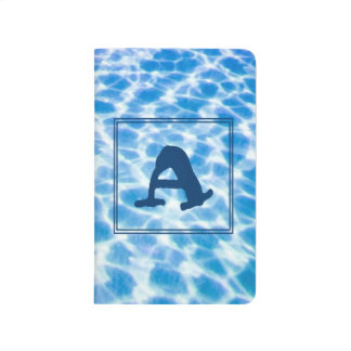A-Monogrammed Waterlogged Personal Journal