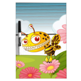A monster bee Dry-Erase whiteboards